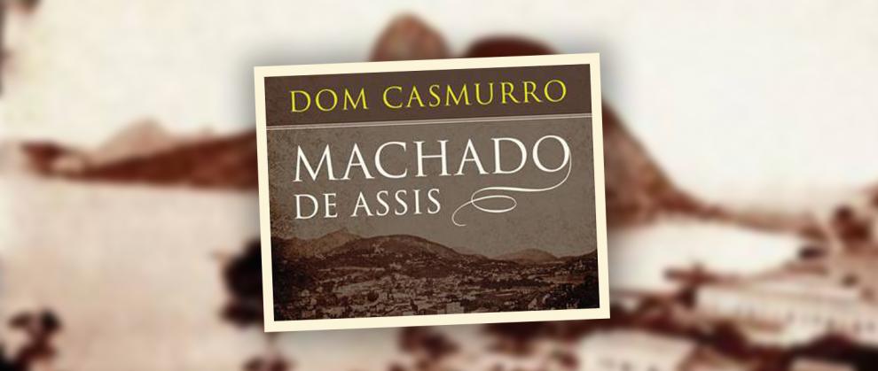 """Capa do livro """"Dom Casmurro"""""""